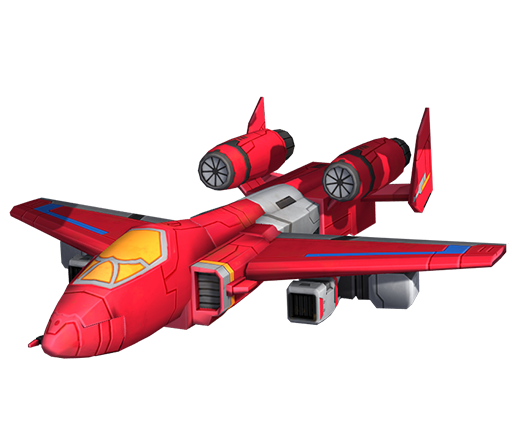 滑翔机变形模式图片
