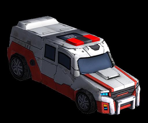 救护车变形模式图片