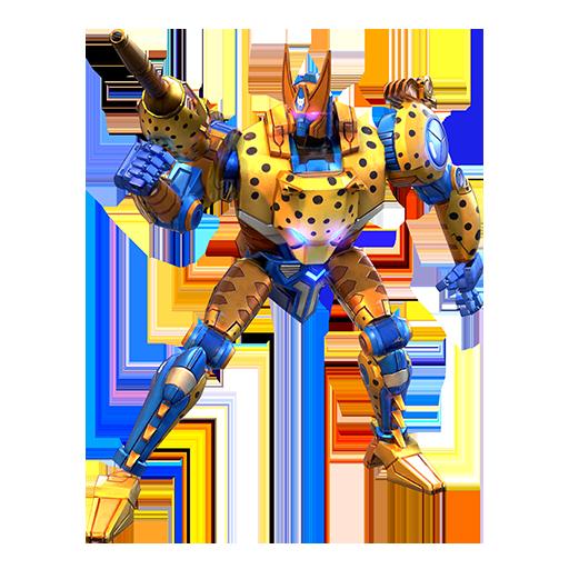 黄豹机器人模式图片