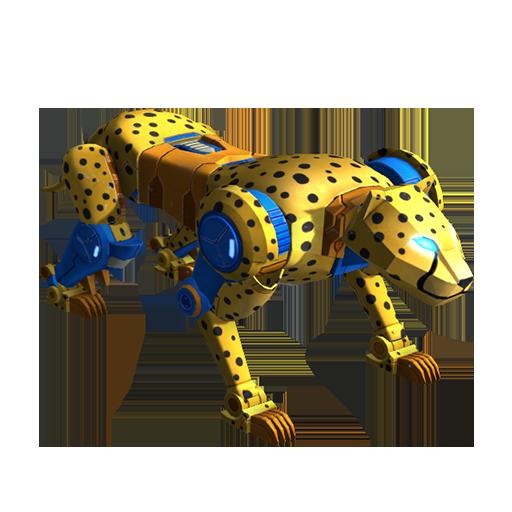 黄豹变形模式图片