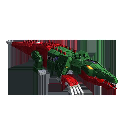 鳄龙变形模式图片