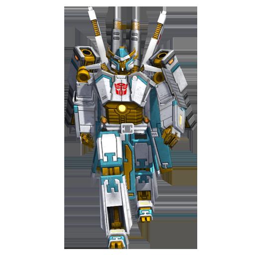 光明守护者机器人模式图片