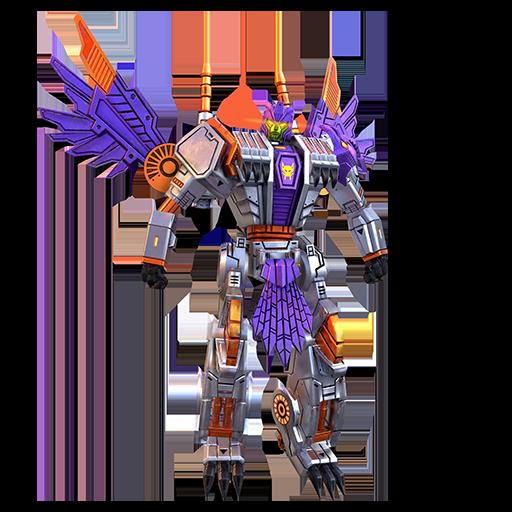 虎鹰机器人模式图片