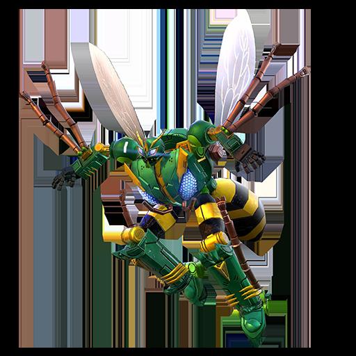 黄蜂机器人模式图片