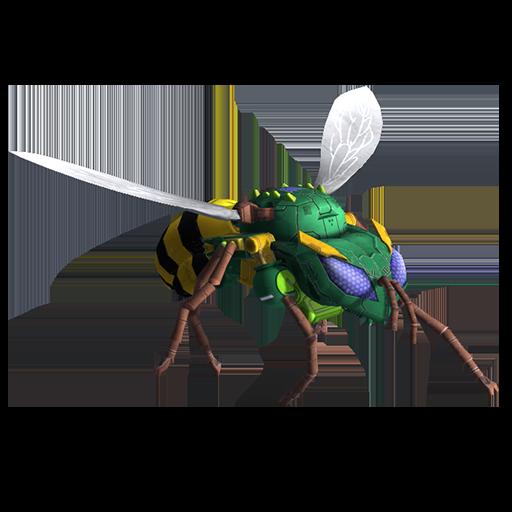 黄蜂变形模式图片