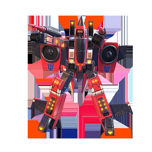 冲锋机器人模式图片