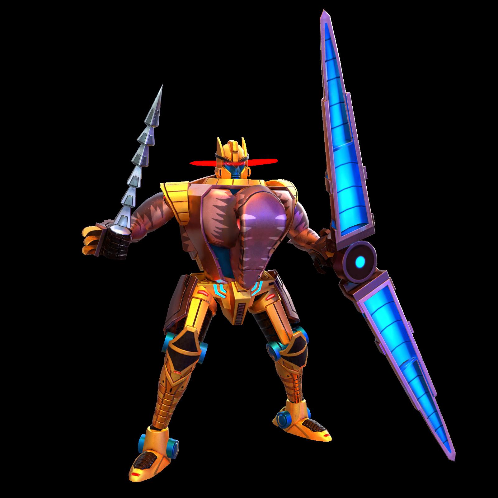 恐龙勇士机器人模式图片