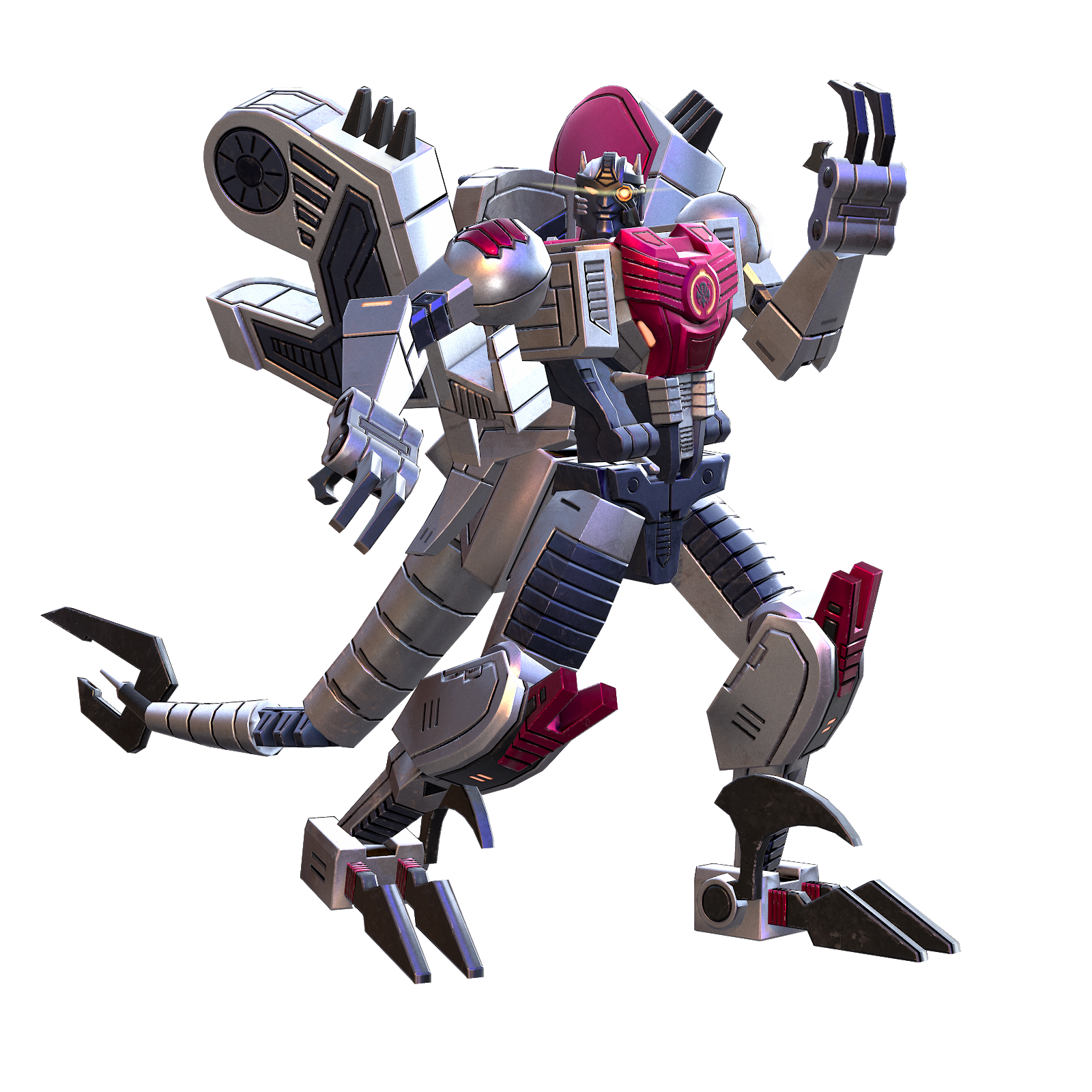 恐龙勇士2代机器人模式图片