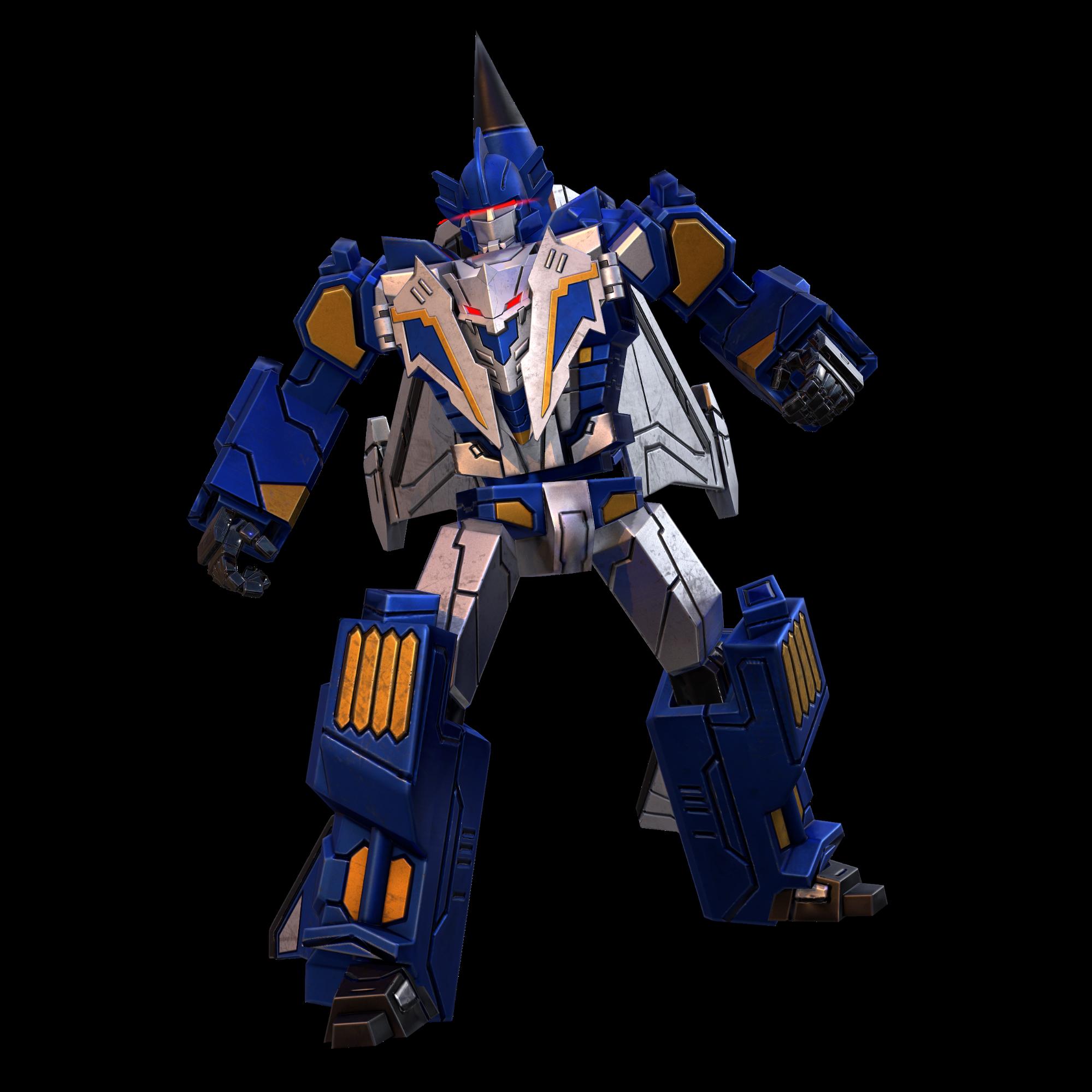 蓝蝙蝠机器人模式图片